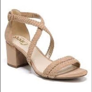 Circus By Sam Edelman Nude Wrap Heeled Sandals